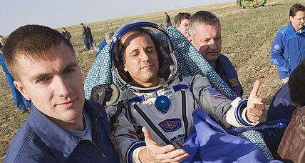 Space station crew lands safely after shortened mission