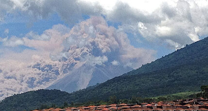 Guatemala volcano erupts, forcing 33,000 to evacuate homes