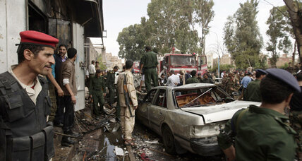 Yemeni defense minister unhurt after deadly bomb attack