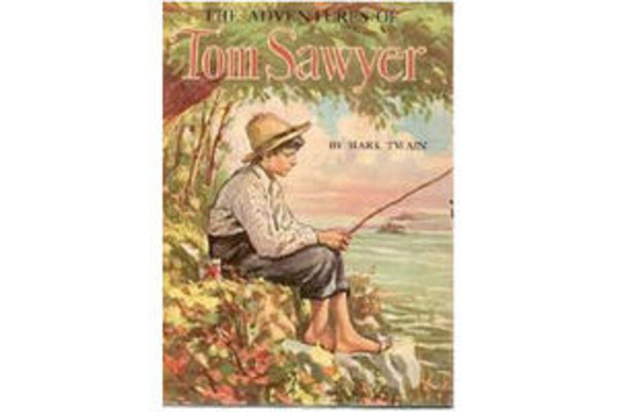 39 the adventures of tom sawyer 39 by mark twain. Black Bedroom Furniture Sets. Home Design Ideas