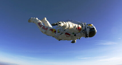 'Fearless' Redbull-sponsored daredevil to plunge to Earth from edge of space