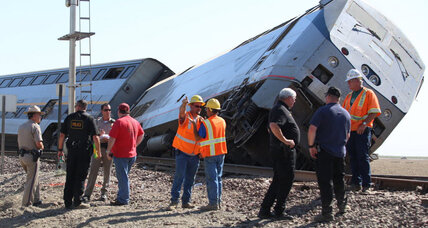 20 injured when Calif. Amtrak train derails