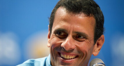 If elected, Capriles vows Venezuela will help with Colombia peace talks
