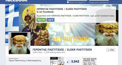 Blasphemy in democracy's birthplace? Greece arrests Facebook user.