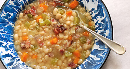 Recipe for debate night: Senate bean soup