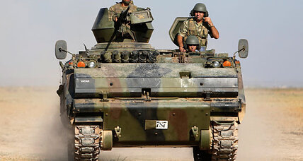 Is Turkey at war with Syria?