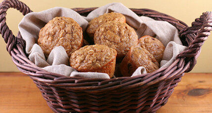 Oatmeal get-up-and-go muffins
