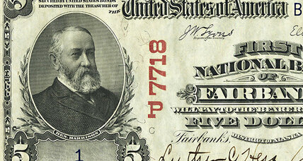 Rare Alaska $5 bill up for auction. Worth up to $300K.