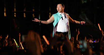 Oppan Gangnam Style! Psy comes home to Korea in triumph.
