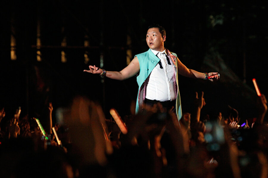 Oppan Gangnam Style! Psy comes home to Korea in triumph