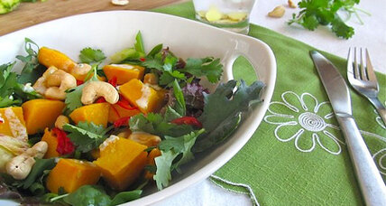 Meatless Monday: Roasted squash and cashew salad