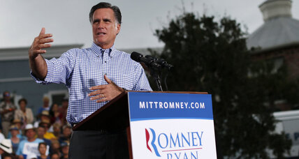 Romney takes aim at foreign policy, as eyes turn to VP debate