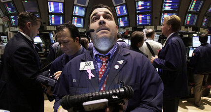 Stocks slump after weak IMF report
