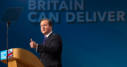 Rise of euroskeptic party in Britain rubs off on Cameron