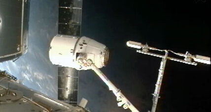 SpaceX Dragon: Private space capsule delivers precious cargo to space station