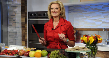 Ann Romney on 'Good Morning America': How'd she handle burning cookies? (+video)