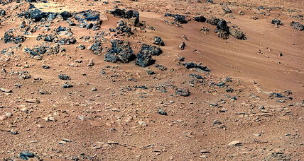 NASA rover Curiosity finds a rock not seen before on Mars