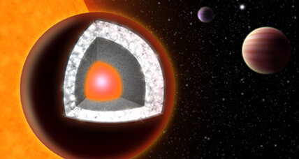 Bizarre alien super-Earth planet probably made of diamond
