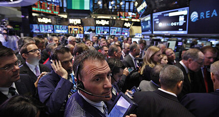 Stocks flatline, pulled by jobless claims, Europe