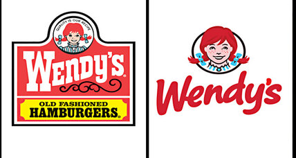 Wendy's logo gets a makeover. The pigtails stay.