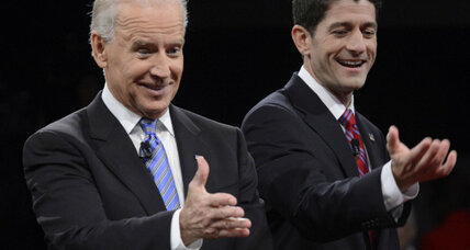 Laughing Biden vs. polite Ryan: Who won?