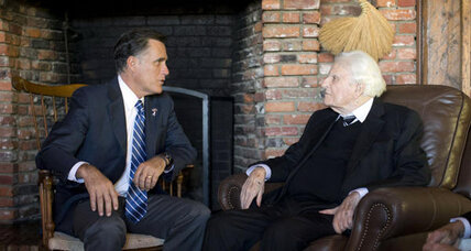 At meeting, Billy Graham pledges to do 'all he can' to help Romney win presidency
