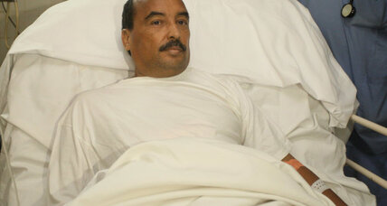President of Mauritania appeals for calm after being shot