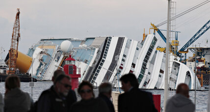 Raising the Costa Concordia, the biggest sea salvage operation ever