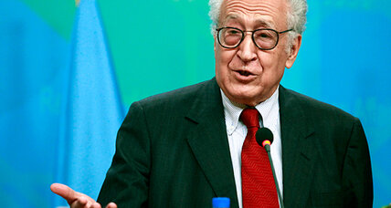 UN envoy for Syria shops a cease-fire idea. Will there be any takers?