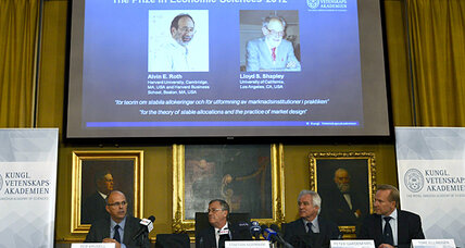 Shapley and Roth get the Nobel Prize for economic engineering