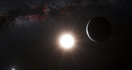 Earth-size Alpha Centauri B planet detected by telltale star wobble