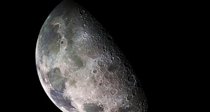 Water on the moon? Maybe a lot more than we thought ... thanks to the sun.