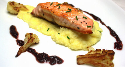 Travel: Iceland and pan-seared salmon