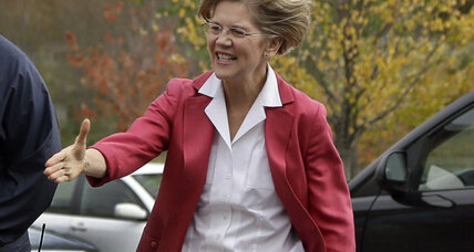 In Mass. Senate race Elizabeth Warren outspends rest of the country (+video)