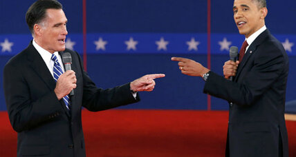 Sharper, more aggressive Obama shows up to second presidential debate