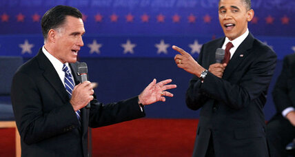 Round 2: President Obama turns up the heat in combative debate (+video)