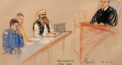 9/11 cases: Khalid Sheikh Mohammed speaks in court, lectures judge