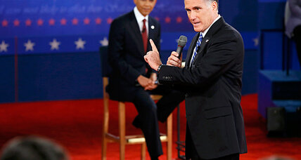 'Binders full of women': a revealing remark from Romney, or a sideshow?
