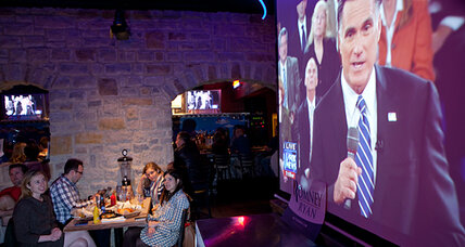 Viewing the Romney-Obama debate in battleground Ohio: a tribal experience