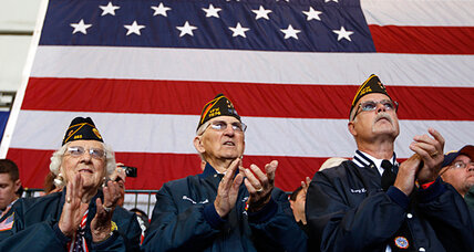 Should military veterans endorse presidential candidates?