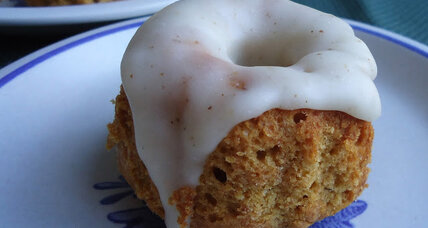 Pumpkin-ginger bundt cakes with browned butter glaze