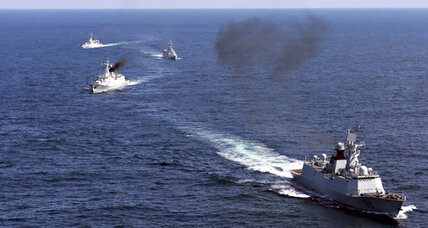 China's naval exercises in East China Sea send warning to regional rivals