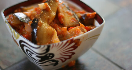 Meatless Monday: Indonesian spicy eggplant