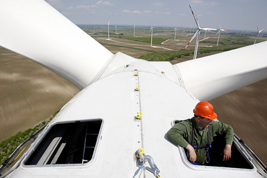 Building Wind Turbine Towers From Wood Csmonitor Com