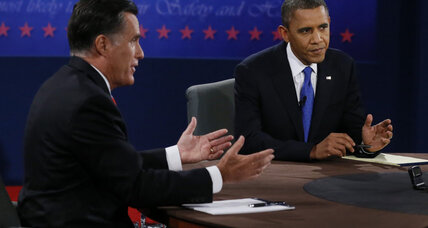 Head to head: Obama and Romney face off in final debate
