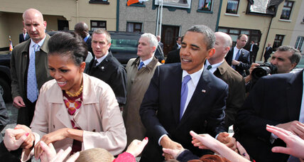 Obama enjoys comfortable edge over Romney - in Ireland