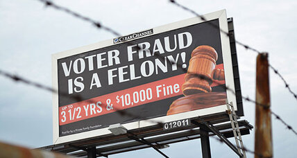 Voter fraud warning on billboards: meant to inform or intimidate?