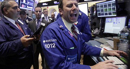 Stocks stabilize on Wall Street after sell-off