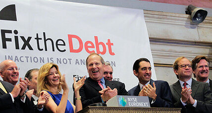 Fix the Debt: CEOs launch drive for 'grand bargain.' Is Washington listening?