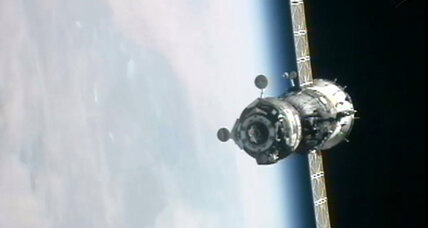 Three new residents arrive at International Space Station